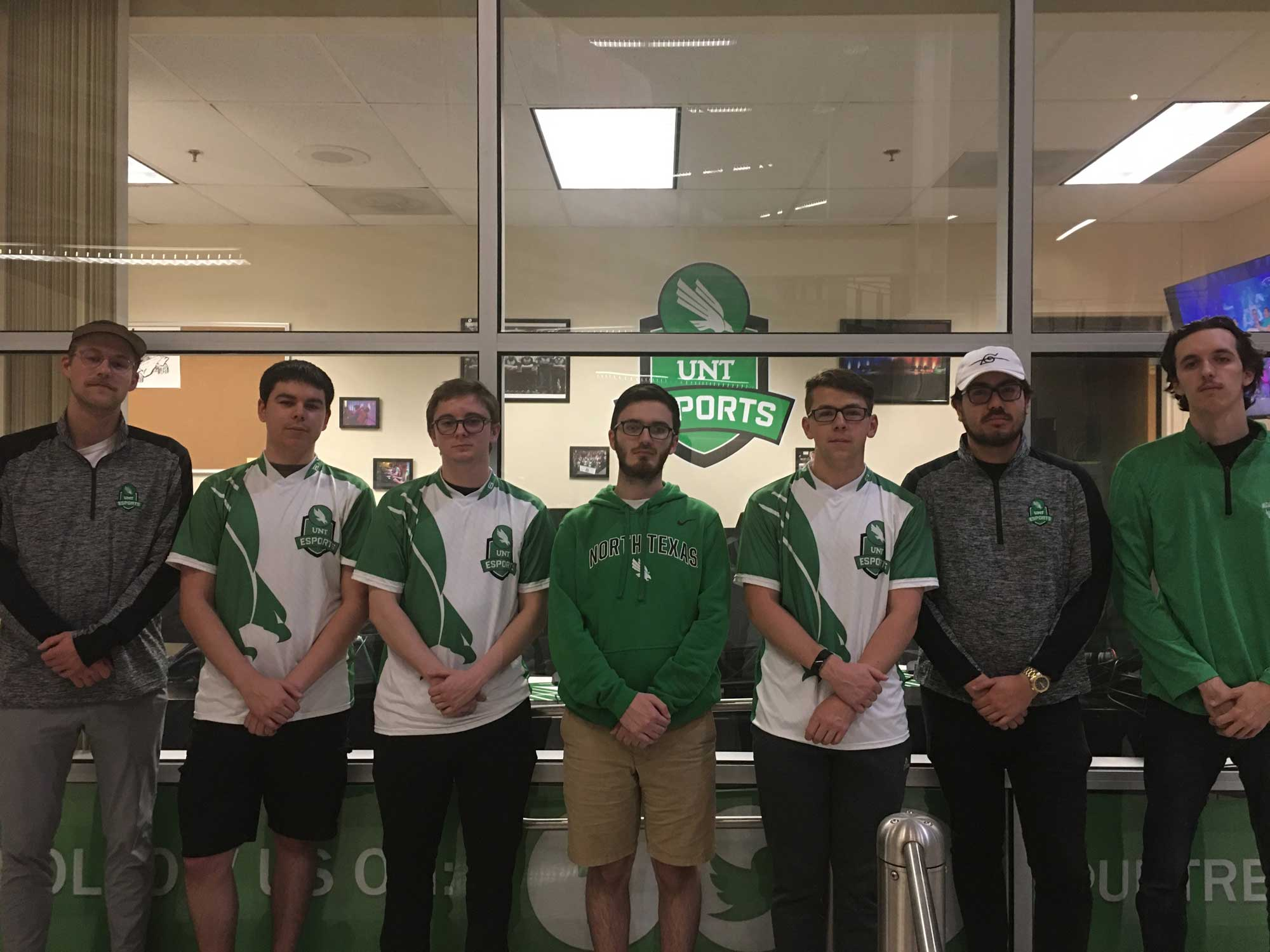 UNT Esports Rocket League team photo