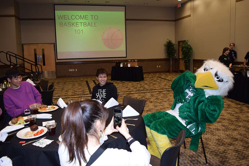 UNT International Students Welcome