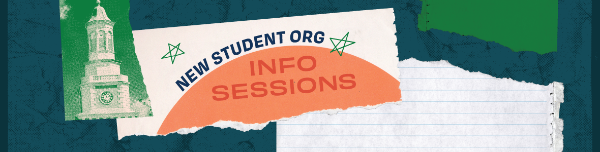 New Student Org Info Session