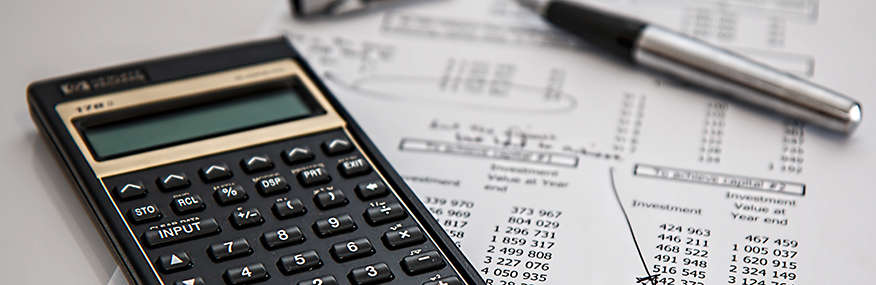 Calculator and budget calculations