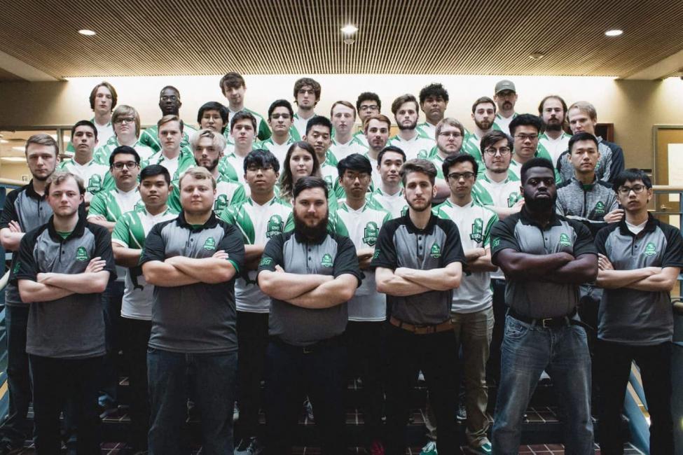 UNT Esports team picture