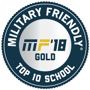 Military Friendly Top 10 School Logo
