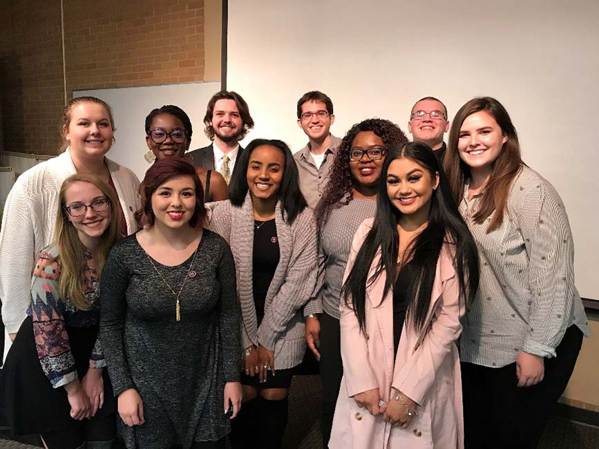 UNT NSLS Chapter Induction