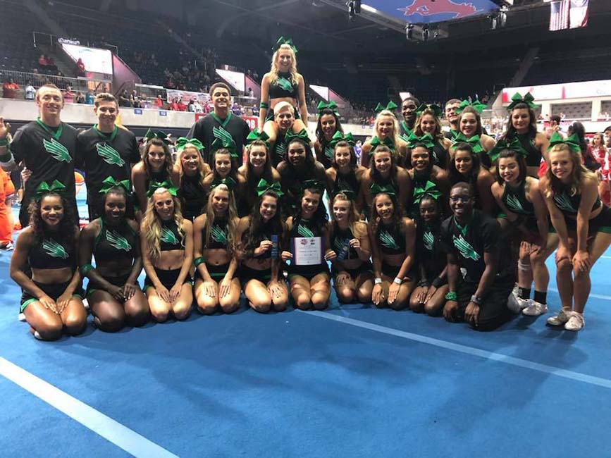 UNT North Texas Cheerleaders
