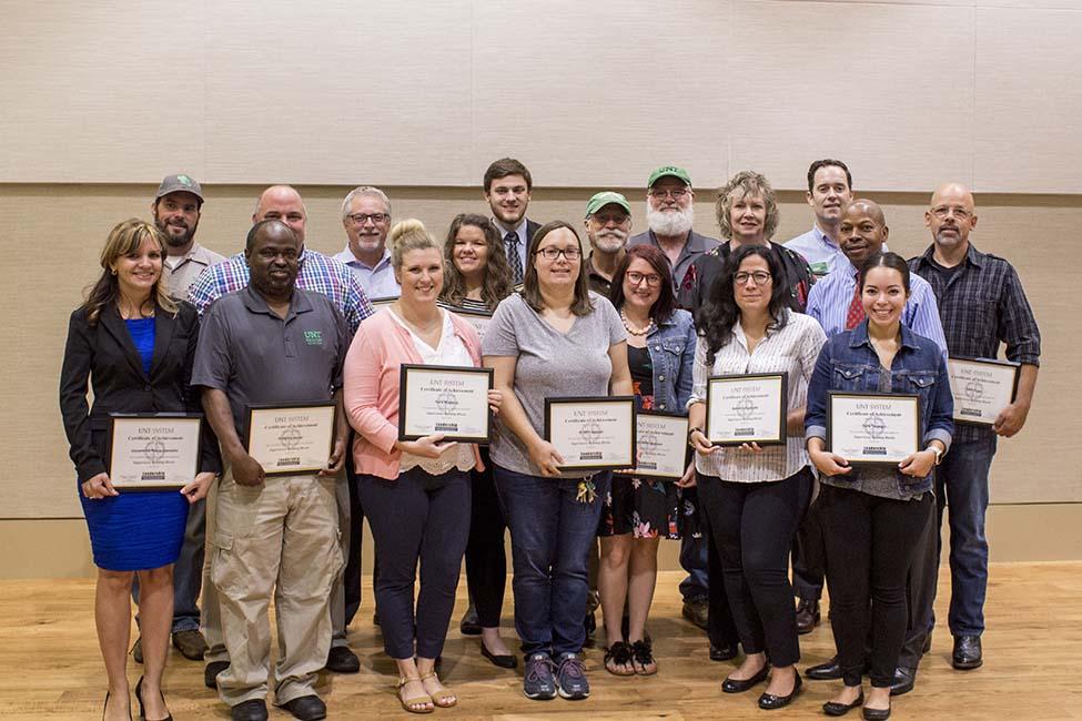 UNT DSA SBB Graduates Summer 2018