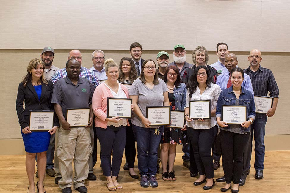 Dsa Staff Members Graduate From The Supervisory Building Blocks