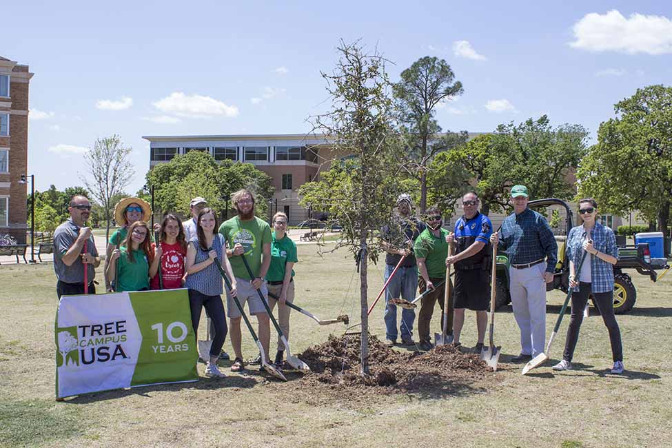 UNT Arbor Day Celebration