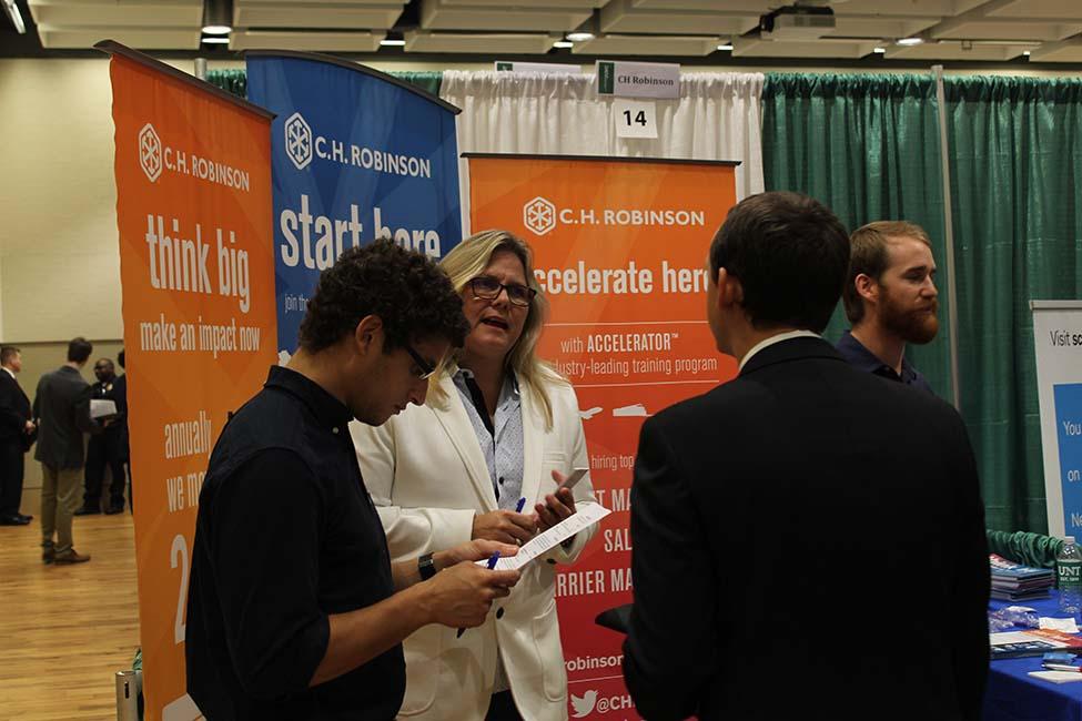 career centers career fairs enjoy record success