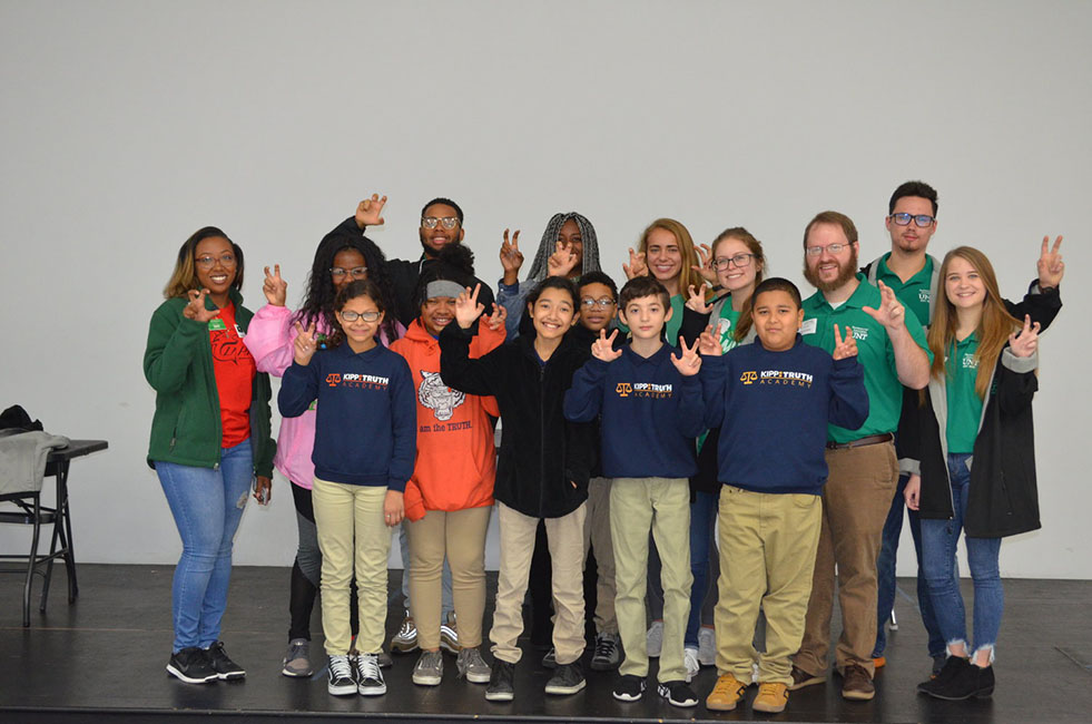 UNT Housing and KIPP Truth Academy