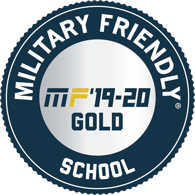 Military Friendly School Gold 2019-2020