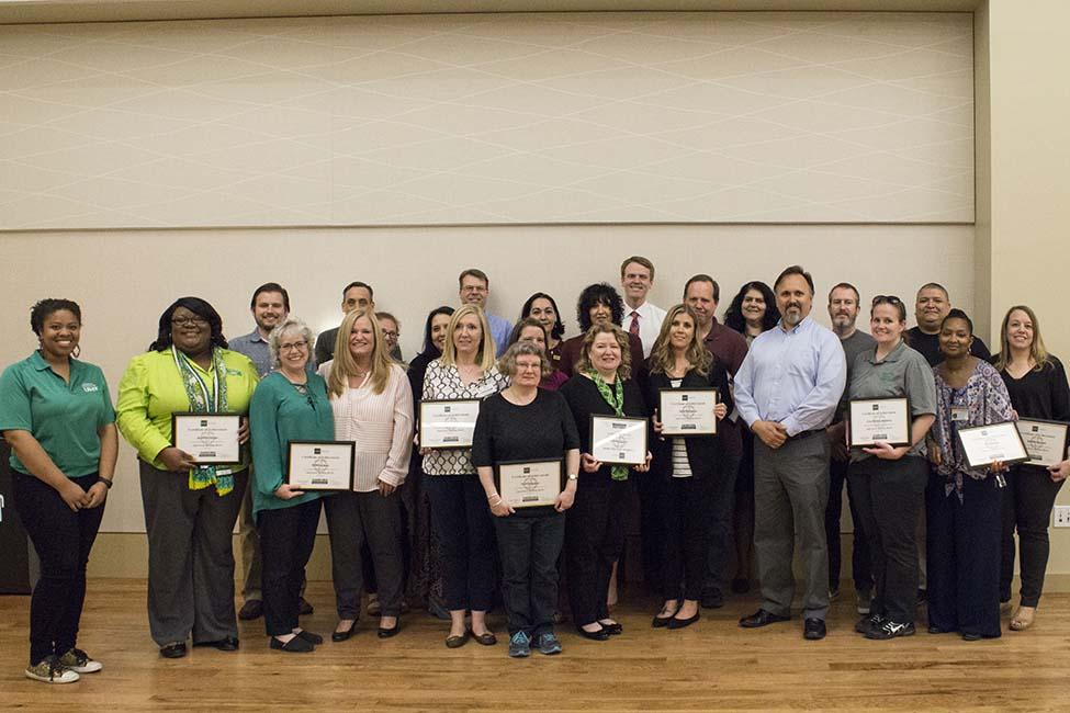 UNT SBB Program Graduates Spring 2018