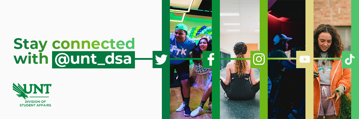 Stay connected with DSA Social Media