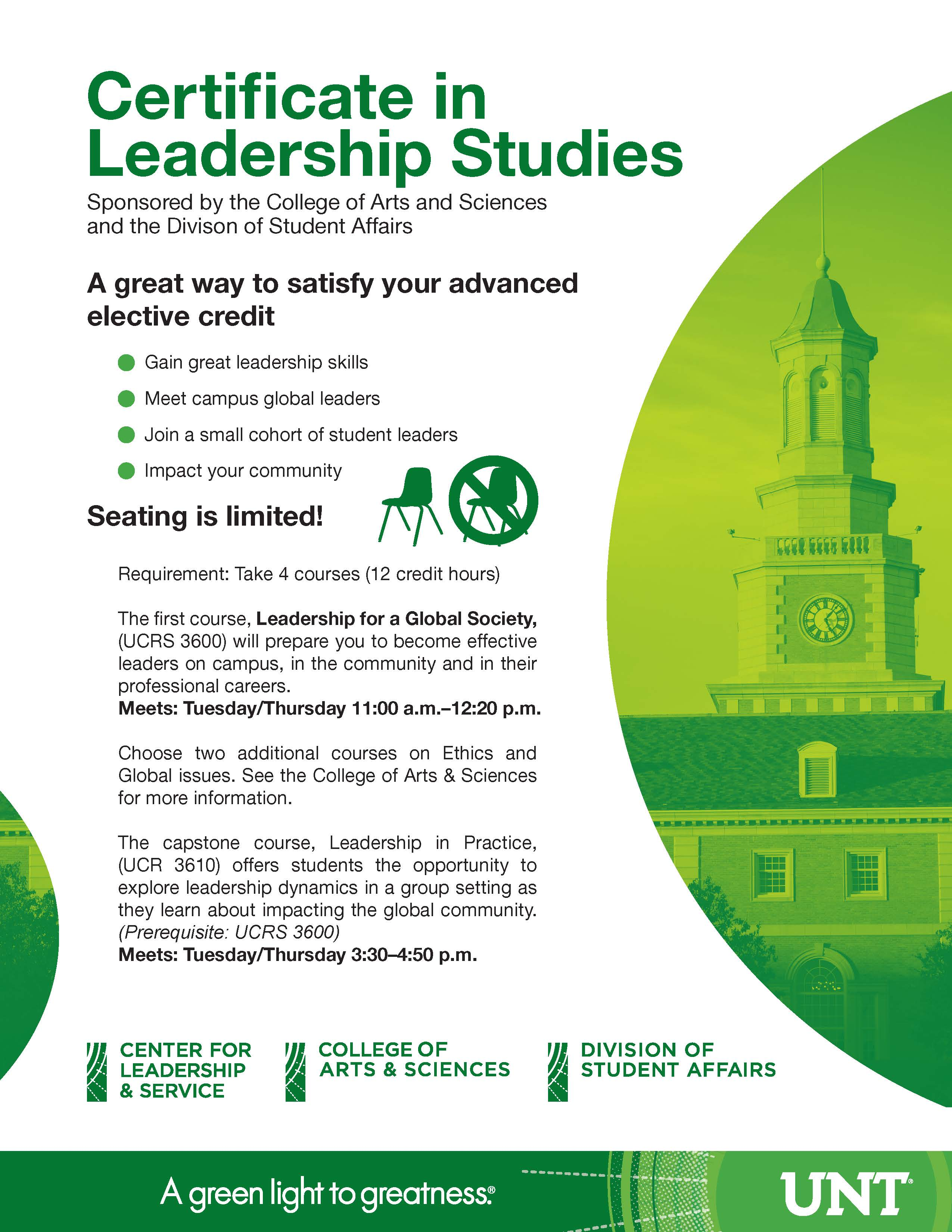 Leadership Certificate Series | Division of Student Affairs