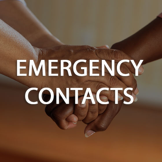 Emergency Contacts button