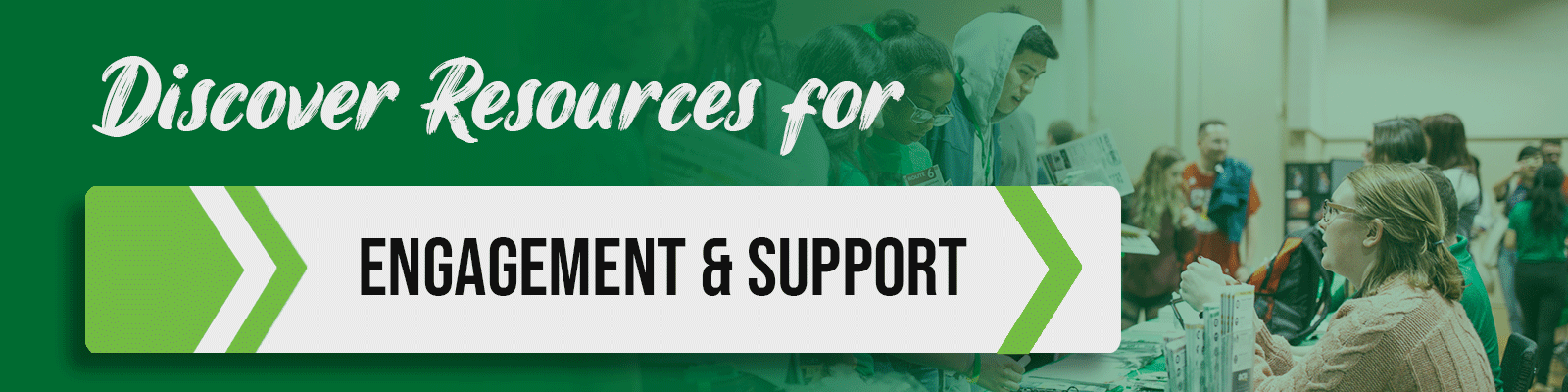engagement and support programs and services