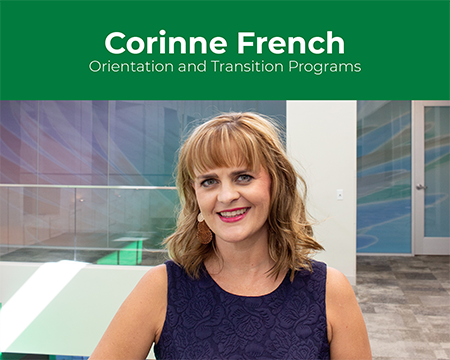 Corinne French Smiling