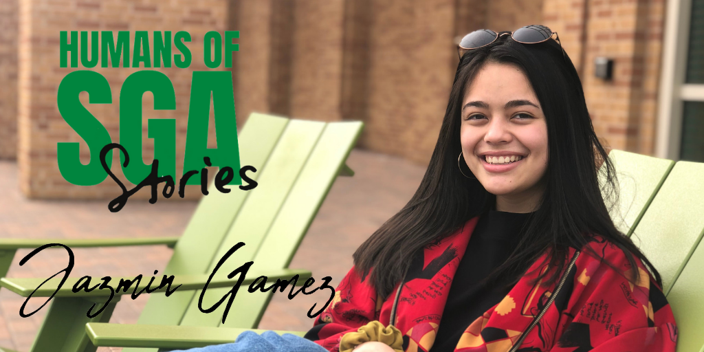 Profile photo of Jazmin Gamez with sga logo