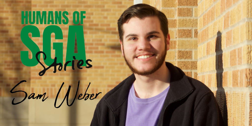 Profile photo of Sam Webber with sga logo