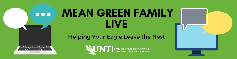 Mean Green Family Live. Helping your eagle leave the nest.