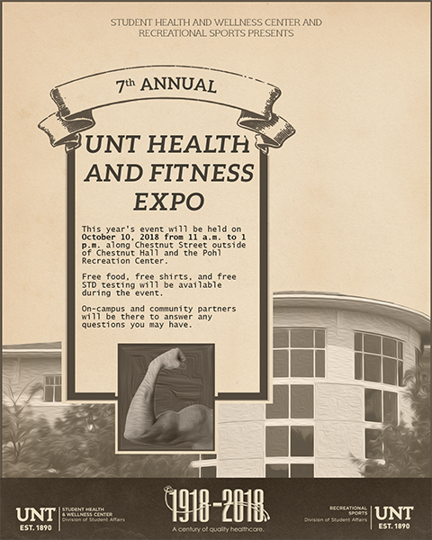 Fitness Expo Flyer