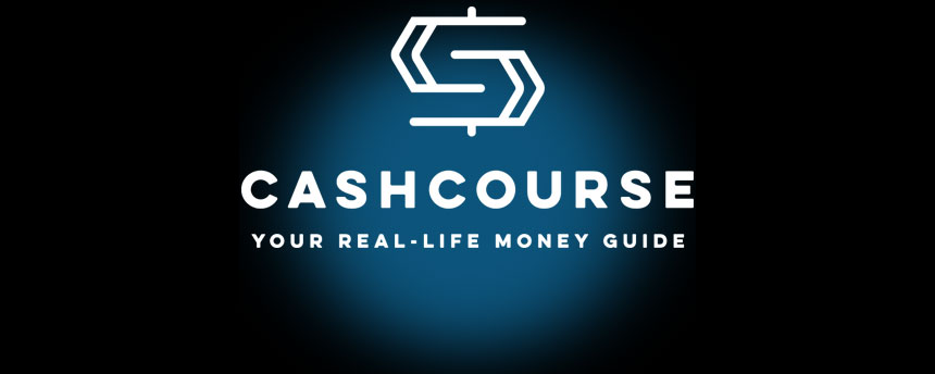 Cashcourse icon with money sign logo