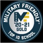 Military Friendly University 2020-2021