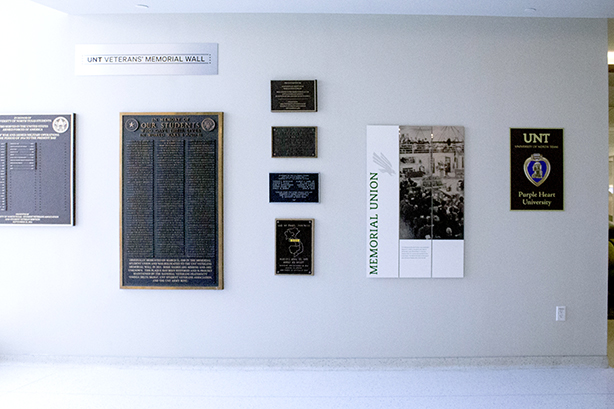 Veteran Memorial gallery wall