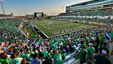 University of North Texas Football Game