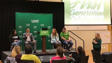 UNT First-Generation Celebration