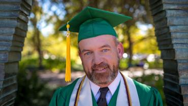 UNT Alumnus James White Fall 2017 Graduation
