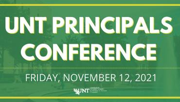 Principals Conference Friday, November 12, 2021