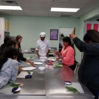 Talent Search Students Cooking