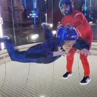 Students Playing In Zero Gravity Chamber