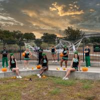 North Texas COED in a Halloween theme