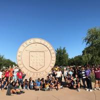 Student Smiling at Texas Tech University