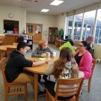 GJHS students learn about finances through Financial Literacy Jenga.