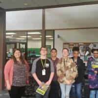 Talent Search SMS students tour the research labs and the Greenhouse Complex at UNT's Discovery Park. Our future engineers!!