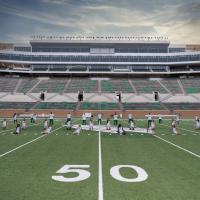 North Texas team on Apogee's Football field