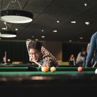 UNT pool game