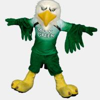 scrappy in mean green jersey with arms spread out