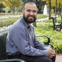 UNT Student Mario Navarrete