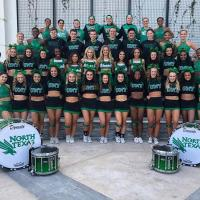North Texas Cheerleaders and North Texas Dancers