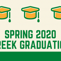 Spring 2020 Greek Graduation Ceremony