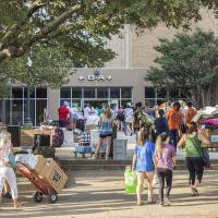 UNT Mean Green Move-In Weekend 2018