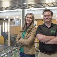 UNT Quarterly Student Spotlight Michael Babich