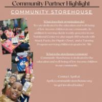 Community Partner Highlight: Community Storehouse