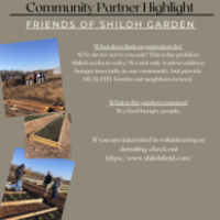 Community Partner Highlight:  Friends of Shiloh Garden