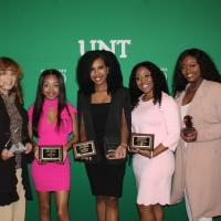 Alpha Kappa Alpha women at the Greek Awards