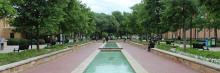 UNT's Library Mall