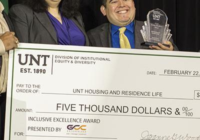 UNT Housing and Residence Life Inclusive Excellence Award